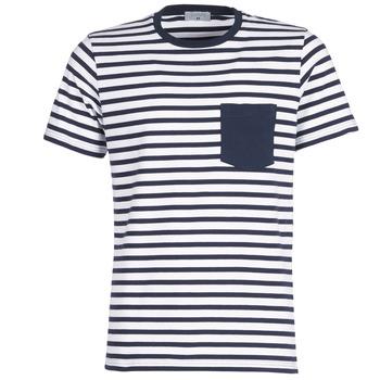Textil Muži Trička s krátkým rukávem Casual Attitude KARALE Tmavě modrá / Bílá