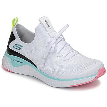 Boty Ženy Fitness / Training Skechers FLEX APPEAL 3.0 Bílá / Růžová / Modrá