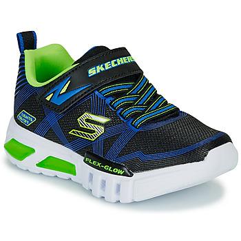 Boty Chlapecké Nízké tenisky Skechers SKECHERS BOY Modrá / Zelená