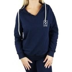 Textil Ženy Mikiny Gymhero Hoodie modrá