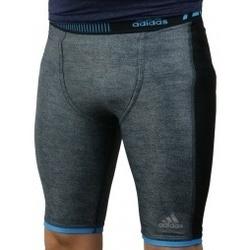 Textil Muži Legíny adidas Originals Techfit Chill Short Tights šedá