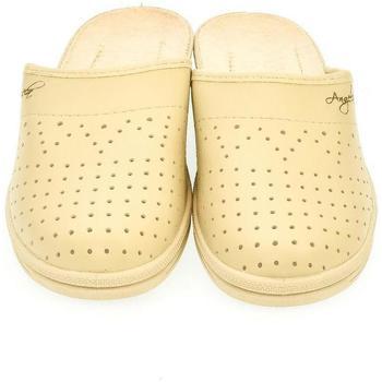 Boty Ženy Papuče John-C Dámske béžové papuče ANGELA béžová