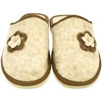 Boty Ženy Papuče John-C Dámske béžové papuče FLORA béžová