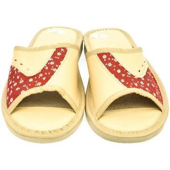 Boty Ženy Papuče John-C Dámske béžové papuče EGID béžová