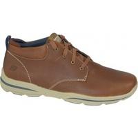 Boty Muži Multifunkční sportovní obuv Skechers Harper Melden hnědá