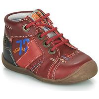 Boty Chlapecké Kotníkové boty Catimini CYRUS Červená