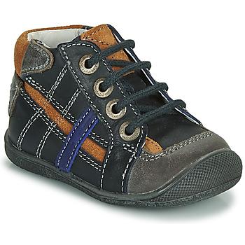 Boty Chlapecké Kotníkové boty Catimini COLIN Tmavě modrá