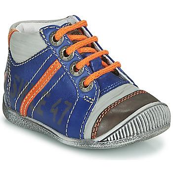 Boty Chlapecké Kotníkové boty GBB ISIS Modrá / Oranžová