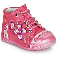 Boty Dívčí Kotníkové boty Catimini CYLENE Růžová