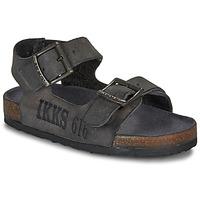 Boty Chlapecké Sandály Ikks CURTIS Černá