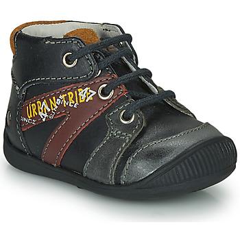Boty Chlapecké Kotníkové boty GBB LEWIN Černá