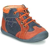 Boty Chlapecké Kotníkové boty Catimini CARACAL Modrá