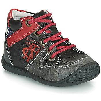 Boty Chlapecké Kotníkové boty Catimini COMATULE Černá / Červená