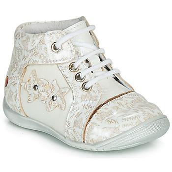 Boty Dívčí Kotníkové boty GBB MAE Bílá