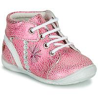 Boty Dívčí Kotníkové boty GBB MELANIE Růžová