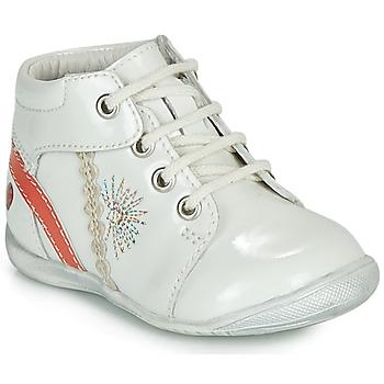 Boty Dívčí Kotníkové boty GBB MELANIE Bílá
