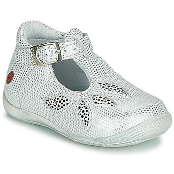 Boty Dívčí Sandály GBB MARIE Bílá / Stříbrná