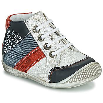 Boty Chlapecké Kotníkové boty GBB MAURICE Bílá