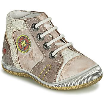 Boty Chlapecké Kotníkové boty GBB MONTGOMERY Béžová