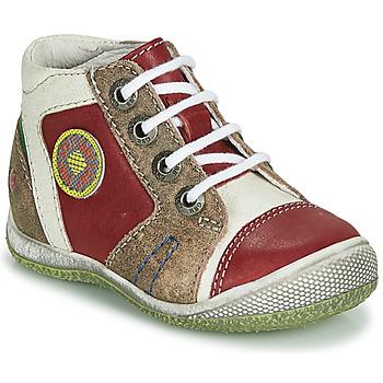 Boty Chlapecké Kotníkové boty GBB MONTGOMERY Červená
