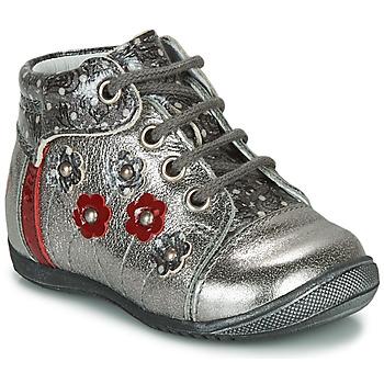 Boty Dívčí Kotníkové boty GBB NAYANA Stříbrná