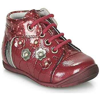 Boty Dívčí Kotníkové boty GBB NAYANA Červená