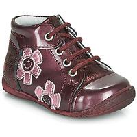 Boty Dívčí Kotníkové boty GBB NEIGE Bordó