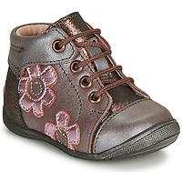 Boty Dívčí Kotníkové boty GBB NEIGE Fialová / Růžová
