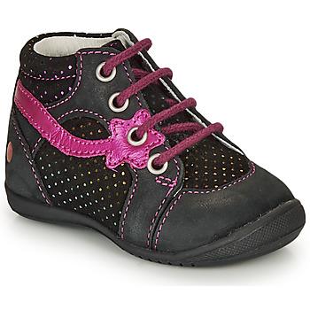 Boty Dívčí Kotníkové boty GBB NOEMIE Černá