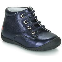 Boty Dívčí Kotníkové boty GBB NAOMI Tmavě modrá