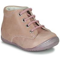 Boty Dívčí Kotníkové boty GBB NAOMI Růžová