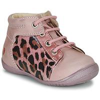 Boty Dívčí Kotníkové boty GBB NELLY Růžová / Černá