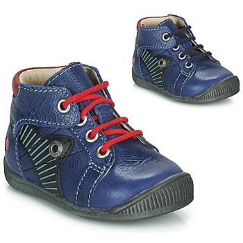 Boty Chlapecké Kotníkové boty GBB NATALE Modrá / Červená