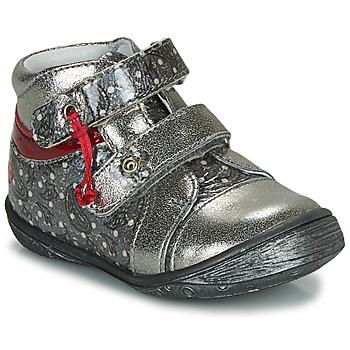 Boty Dívčí Kotníkové boty GBB NICOLINE Stříbrná