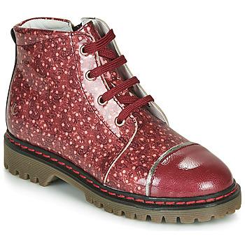 Boty Dívčí Kotníkové boty GBB NEVA Červená