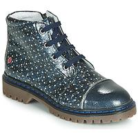 Boty Dívčí Kotníkové boty GBB NEVA Tmavě modrá