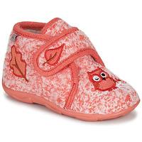 Boty Dívčí Papuče GBB NEOPOLO Růžová / Červená