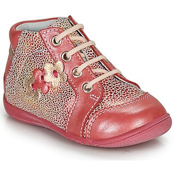 Boty Dívčí Kotníkové boty GBB PETULA Korálová