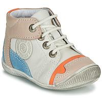 Boty Chlapecké Kotníkové boty GBB PAOLO Bílá / Béžová / Modrá