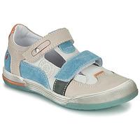 Boty Chlapecké Sandály GBB PRINCE Krémově bílá / Béžová / Modrá