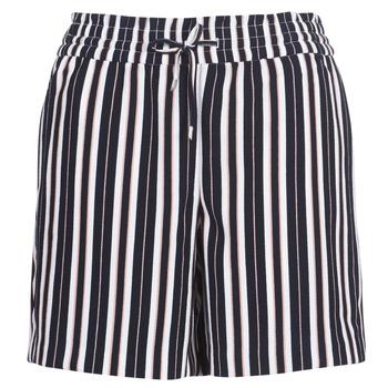 Textil Ženy Kraťasy / Bermudy Only ONLPIPER Tmavě modrá / Bílá