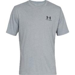 Textil Muži Trička s krátkým rukávem Under Armour Sportstyle Left Chest Tee 1326799-036 gris