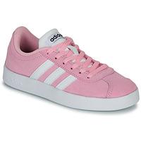 Boty Děti Nízké tenisky adidas Originals VL COURT K ROSE Růžová