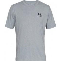 Textil Muži Trička s krátkým rukávem Under Armour Sportstyle Left Chest Ss šedá