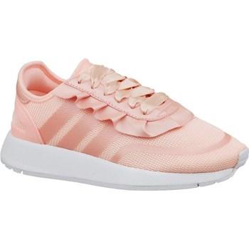 Boty Dívčí Nízké tenisky adidas Originals N5923 J Růžová
