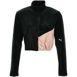Textil Ženy Teplákové bundy Puma Rive Gauche FZ Černá