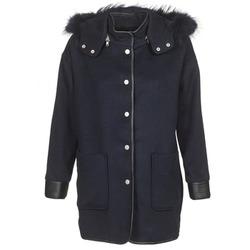 Textil Ženy Kabáty Suncoo ELFIE Tmavě modrá