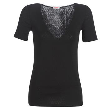 Spodní prádlo  Ženy Tílka  Damart FANCY KNIT GRADE 4 Černá