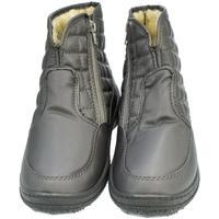 Boty Ženy Zimní boty John-C Dámske sivé členkové čižmy E-LUX sivá