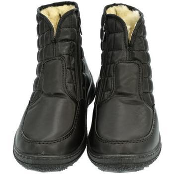 9ba1fda4e56 John-C Zimní boty Dámske čierne členkové čižmy E-LUX - Černá